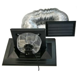 Crawlspace Exhaust Fan for foundation ventilation